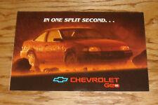 Original 1992 Chevrolet & Geo Anti-Lock Braking System Sales Brochure 92 Chevy