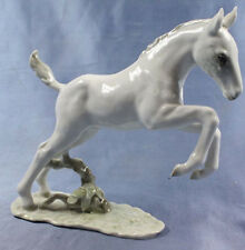 Pferdefigur pferd  Porzellan figur Hutschenreuther springendes fohlen 1970