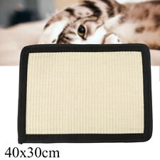 New listing Cat Pet Kitten Sisal Scratch Mat Furniture Wrap Protect Toy Lay Flat Scratch Pad
