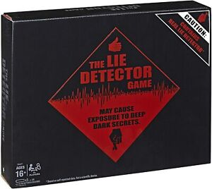 The Lie Detector Game - Electronic Adult Party Game by Hasbro - New & Sealed