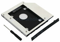 2nd SATA Hard Disk Drive SSD HD Caddy for Fujitsu Lifebook S760 S761 S762 Series