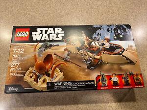 LEGO 75174 Star Wars DESERT SKIFF ESCAPE Boba Fett Han Solo Chewbacca Guard