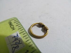 Ancient gold jewelery temporal Vikings Kyivan Rus 9-12 AD №742/8
