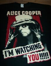 ALICE COOPER I'm Watching You 2015 TOUR T-Shirt XL NEW