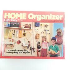 "Home Organizer Light Duty 1/8"" To 1/4"" Peg Hook Kit 43 Pcs. Peerless Chain Co."