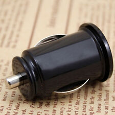 Mini Black Car Charger Adaptor Bullet Dual USB 2-Port Charging for Phone iPad CA