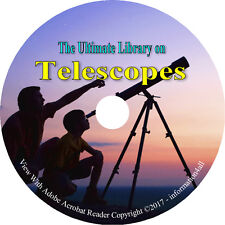 40 Books on DVD - ULTIMATE library on Telescopes, Observatory Astronomy Stars