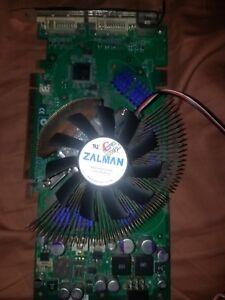 BFG GeForce 7800 GT BFGR78256GTOC 256MB GDDR3 SDRAM with Zalman Heatsink VF700