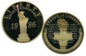 STATUE OF LIBERTY 1886 JUMBO COMMEMORATIVE COIN $139.95