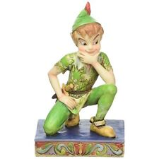 Disney Traditions Peter Pan Childhood Champion Ornament Resin Figurine Gift Box