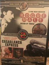 Rogue Male and Casablanca Express Dvd