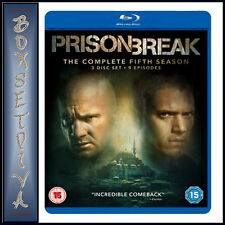 PRISON BREAK - COMPLETE SEASON 5  - FIFTH SEASON **BRAND NEW BLU-RAY***