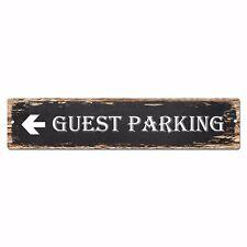 SP0924 Guest Parking Street Sign Bar Store Shop Pub Cafe Home Shabby Chic Decor