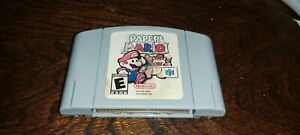 Paper Mario N64 Cleaned/Tested/Works Great! AUTHENTIC