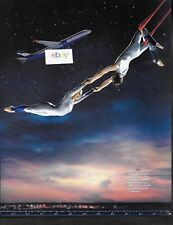 AEROFLOT RUSSIAN AIRLINES AIRBUS A330 & TRAPEZE COUPLE AT NIGHT 2013 AD