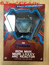 Hot Toys LMS 010 Iron Man Mark LXXXV 85 Arc Reactor Life-Size NEW