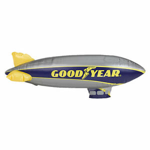 """Goodyear Large Inflatable Blimp - 33"""""""