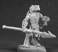 1x CHHAYA TURTLE - WARLORD REAPER figurine miniature rpg jdr reptus tortue 14454