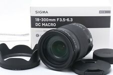 FedEx DHL MINT in BOX Sigma 18-300mm f/ 3.5-6.3 DC Macro NIKON JAPAN O0086