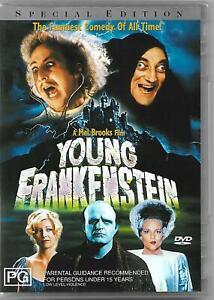 Young Frankenstein DVD (1974) Gene Wilder Marty Feldman Region 4