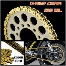 Unbranded Gold Motorcycle Chains, Sprockets and Parts