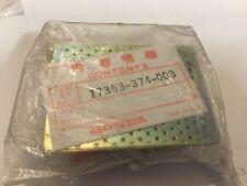Nos Handa Cb550k Seal Plate 17353-374-003