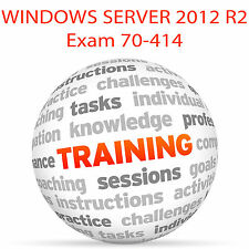 Windows Server 2012 R2 Exam 70-414 - Video Training Tutorial DVD