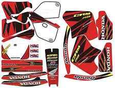 kit deco complet DD RACING pour 125 CRM HONDA - autocollant / stickers - NEUF