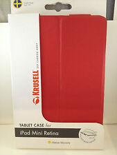 Krusell Malmö Hard Case Cover Stand APPLE iPad Mini with Retina Display - Red