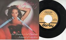 KATHLEEN DEL CASINO disco 45 giri MADE in ITALY La France c'est l'amour 1978