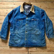 Vintage 1970s Lee blanket lined chore jacket L / XL