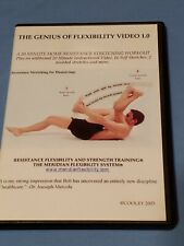 The Genius Of Flexibility,  20 Minute Home Resistance Stretch Workout, DVD, RARE