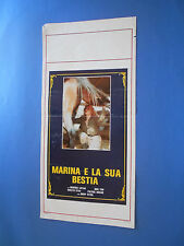 LOCANDINA MARINA LOTAR E LA SUA BESTIA A1