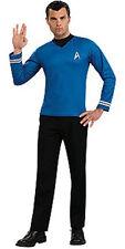 NEW STAR TREK Movie Uniform-  X-LARGE Adult Science/Blue  FREE S&S