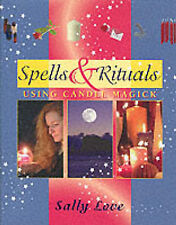 New, Spells & Rituals - Using Candle Magick, Love, Sally, Book