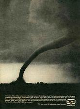 1970 Print Ad of Texaco Farm Service Distributor Twister Tornado