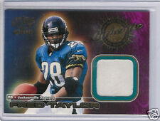 2000 PACIFIC GAME WORN JERSEYS FRED TAYLOR JERSEY CARD