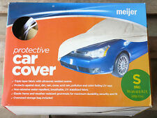 NEW Meijer Protective Car Cover - Size Small - Fits cars up to 14.2 feet long