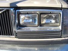 US Volvo 240 260 242 244 246 headlight NEW 4x NEU Turbo
