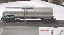 """Märklin 47561 Vagón Tanque químico"""" kvg """"de DB AG # nuevo emb. orig."""