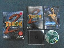 PC TUROK 2 Seeds Of Evil + Shadowman Comic big box with key