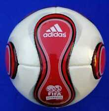 Adidas Red Teamgeist Soccer | Official Match Ball | World Cup 2006 No.5