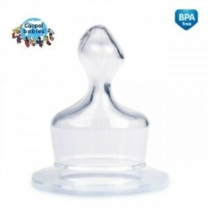 Silicone Teat Orthodontic Spout For Standard Bottle Canpol