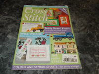 Cross Stitch Magazine July/August 2003 no 1/2 or 1/4 Stitch