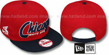 White Sox COOP 'SNAP-IT-BACK SNAPBACK' Red-Navy Hats by New Era