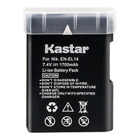 Kastar Battery for Genuine Nikon EN-EL14 14a Nikon D3500 D3400 D5300 D5500 D5600