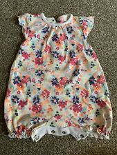 Baby Girl Next All In One Playsuit Jumpsuit Shorts Newborn Floral Summer