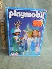 Vintage Playmobil 3835 MEDIEVAL MAGIC ROYAL COUPLE & BABY THRONE HEIR~NEW~MIB