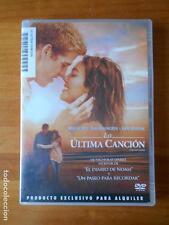 DVD LA ULTIMA CANCION - MILEY CYRUS, GREG KINNEAR - EDICION DE ALQUILER (W5)
