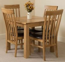 Oak Square Dining Tables Sets